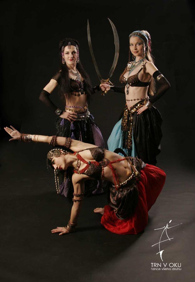 Dark tribal fusion dance